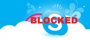 Skype Blocked